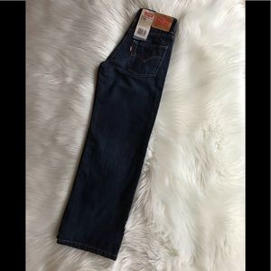 Levi's 550 NWT Boys Relaxed Tapered Jeans; SZ 10.